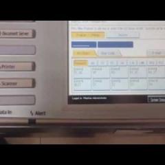 Hướng dẫn đổi pass user sử dụng máy photocopy ricoh